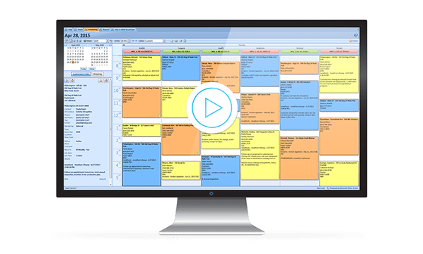easy field service scheduling software