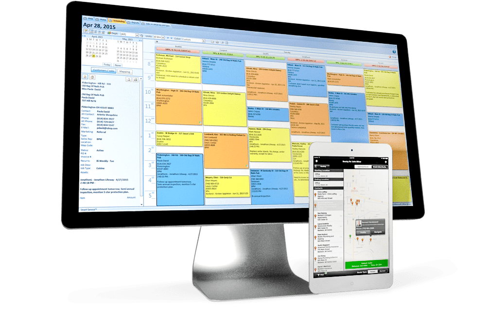 sales software for field service