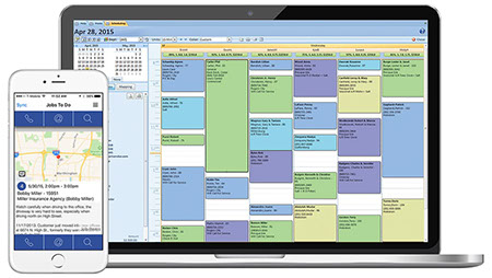 landscape scheduling software