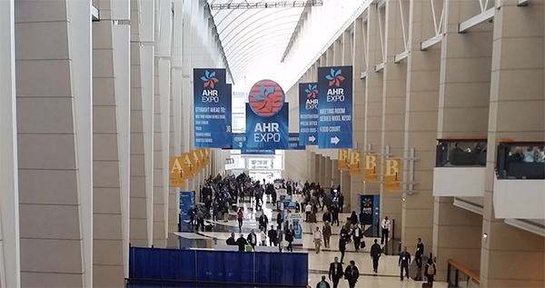 The 2018 AHR Expo was a sight to see!