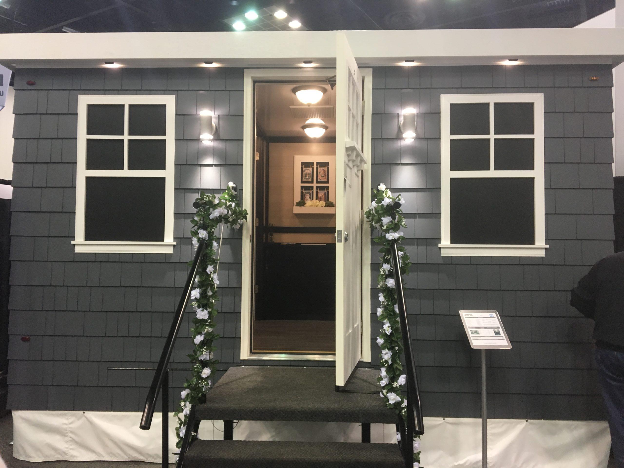 luxury bathroom trailer cottage style