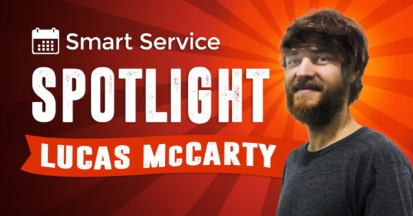 smart service spotlight Lucas Mccarty