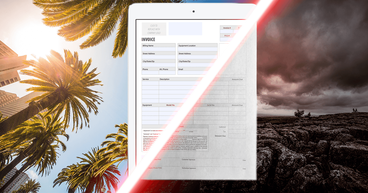 Learn how to make a PDF fillable form for field service work.