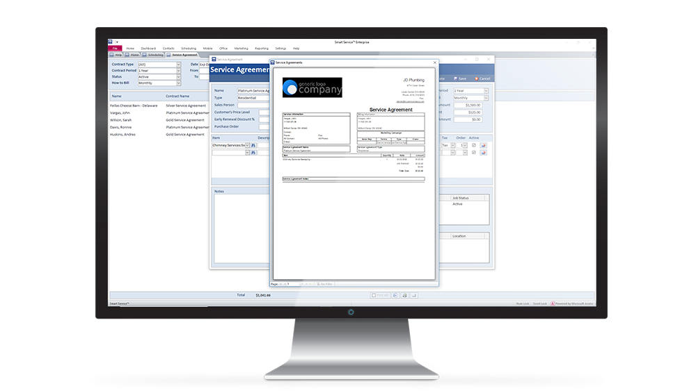 QuickBooks Scheduling Software for Field Service