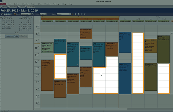 Scheduling and Customer Management Software