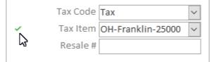 Tax Item