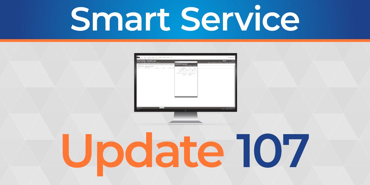 Smart Service Update 107