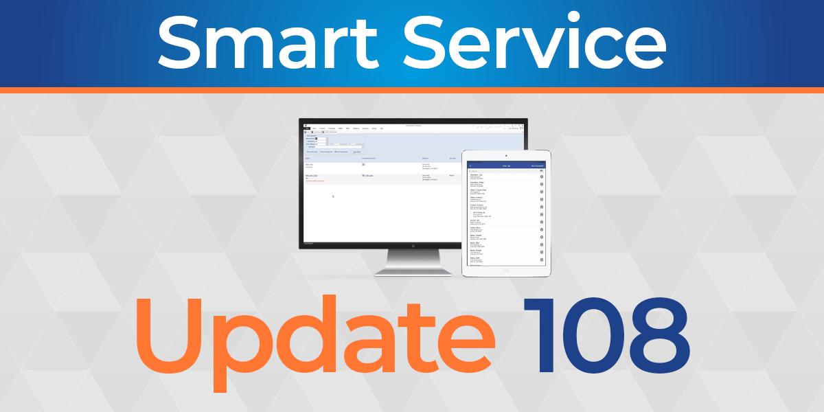 Smart Service Update 108