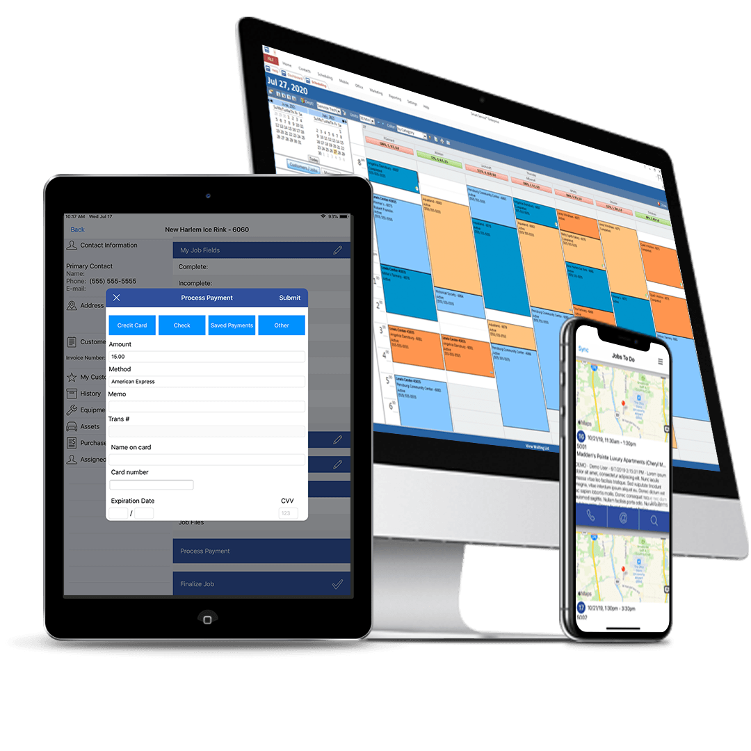 field service dispatch app