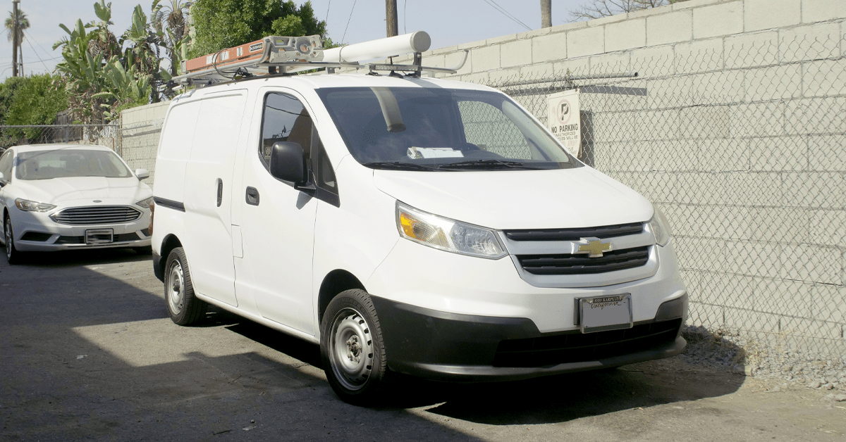 Field Service Vehicle Maintenance