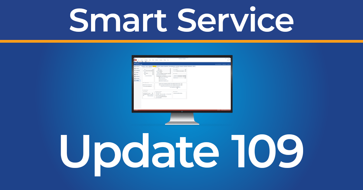 Smart Service Update 109
