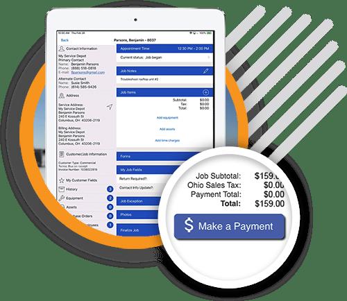 Field Service Work Order App