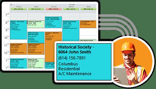 Smart Service Scheduling