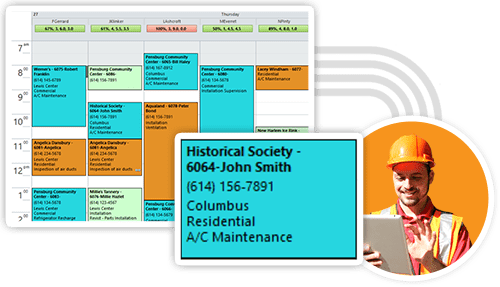 Field Service Job Scheduling Software