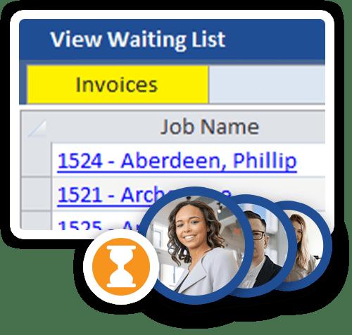 Waiting List Jobs