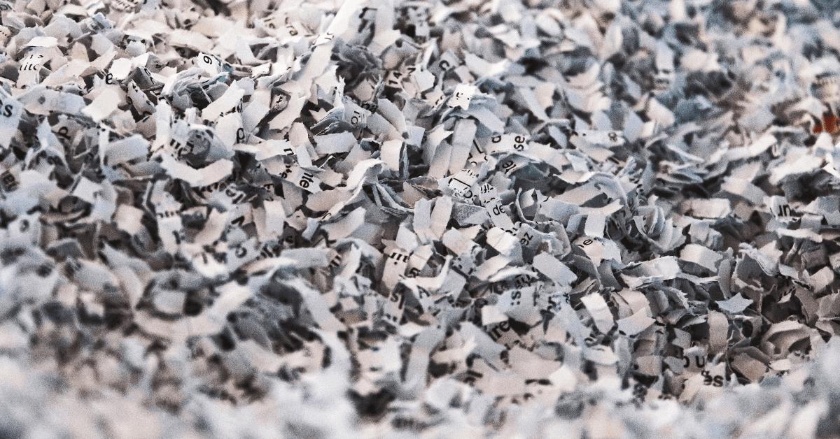 Document Destruction Asset Tracking