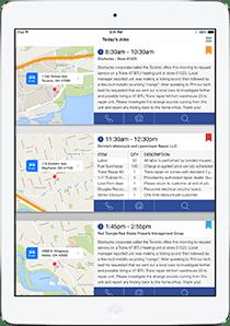 field service sales app