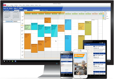 field service dispatch software for quickbooks