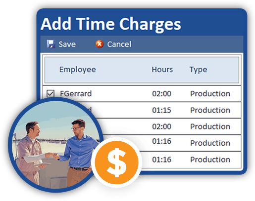 technician charging customer for billable services