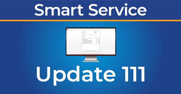 photo of smart service update 111