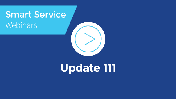 September 2021 Smart Service Webinar - Smart Service Settings